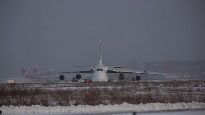 В Росавиации рассказали, когда из Толмачёво вывезут аварийно приземлившийся самолет