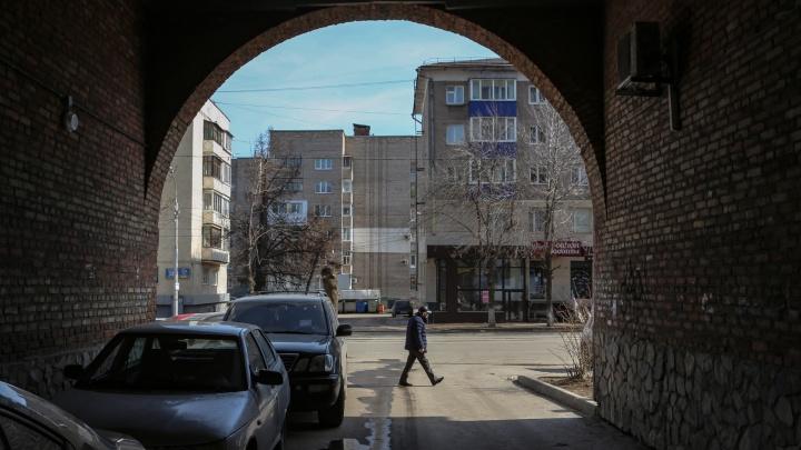 Уфа на карантине: город вымер в нерабочий понедельник