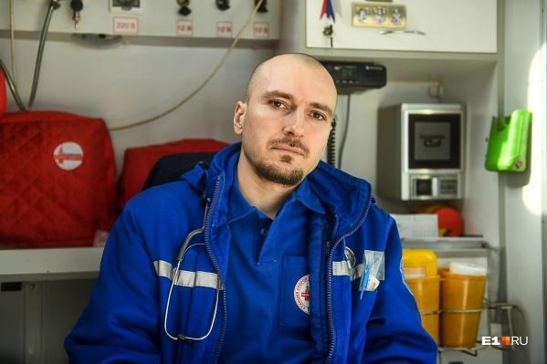 Артур Симонян работает на скорой помощи с первого дня учебы в медицинской академии