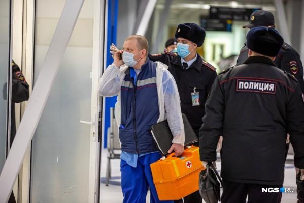 В Толмачёво встретят пассажиров столичных рейсов