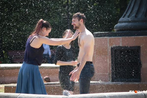 Всю неделю в Екатеринбурге стоит аномальная жара
