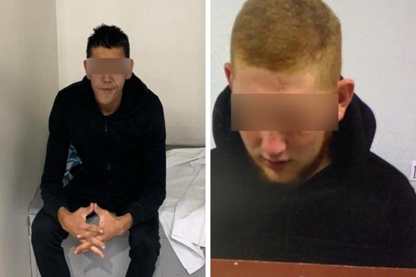 Двоих молодых омичей задержали полицейские