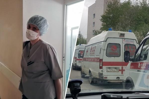 Ковидный госпиталь в Бронницах заработал в конце апреля
