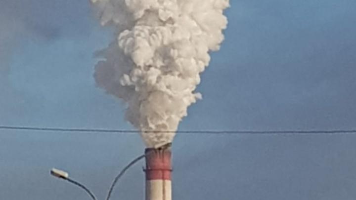 «Таким он и должен быть»: в СГК объяснили природу белого дыма из труб ТЭЦ, который смущает новосибирцев
