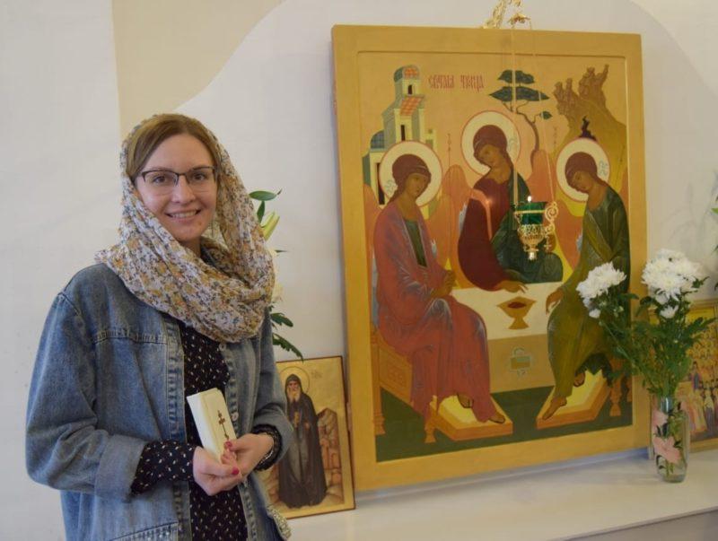 Дарья часто ходила в церковь и помогала людям