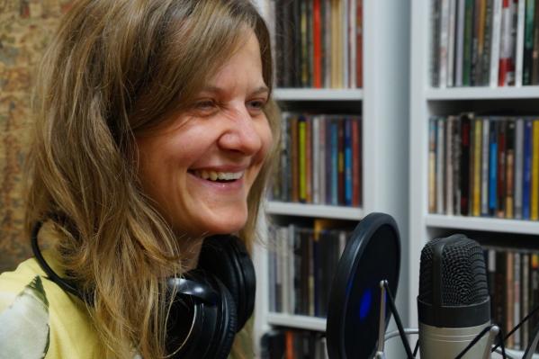 Аника Жунева — сказительница и один из организаторов проекта