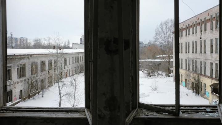 Появилось видео из заброшенного Дома печати в Самаре
