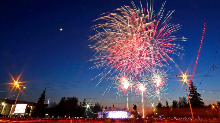 Власти Уфы определились с площадками для салюта на День Республики