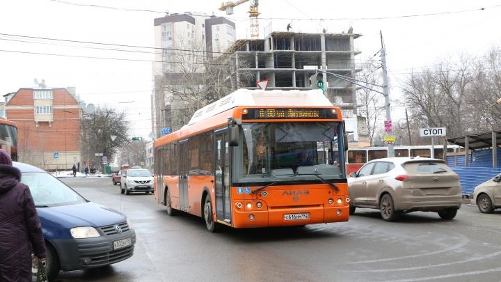 Власти пообещали нижегородцам, что автобусы во время режима самоизоляции будут ходить чаще
