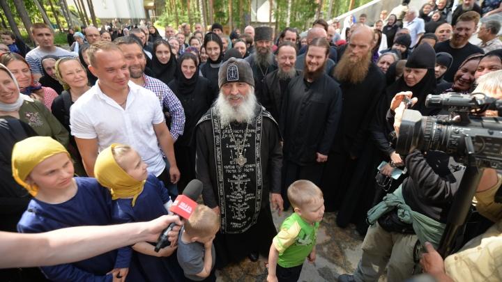 Схиигумен Сергий провел службу и объяснил, за что его лишили сана: все о конфликте в монастыре