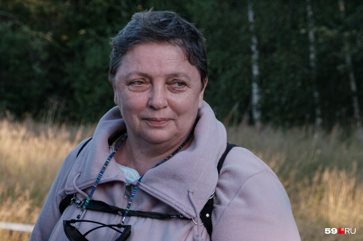 Лариса Савицкая — главный консультант фильма, который выстроен по ее рассказу. Она прилетела в Прикамье на съемочную площадку