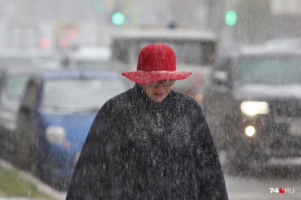 Синоптики обещают, что дождь будет переходить в снег