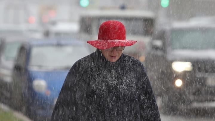 В МЧС предупредили челябинцев о трехдневном снеге с дождем и гололеде
