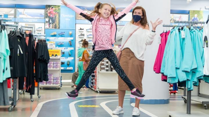 Вместе веселее: две сибирячки рискнули и взяли детей на шопинг — как это было