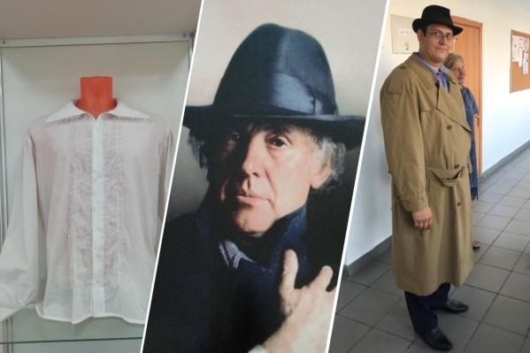 В красноярской школе выставка Иннокентия Смоктуновского
