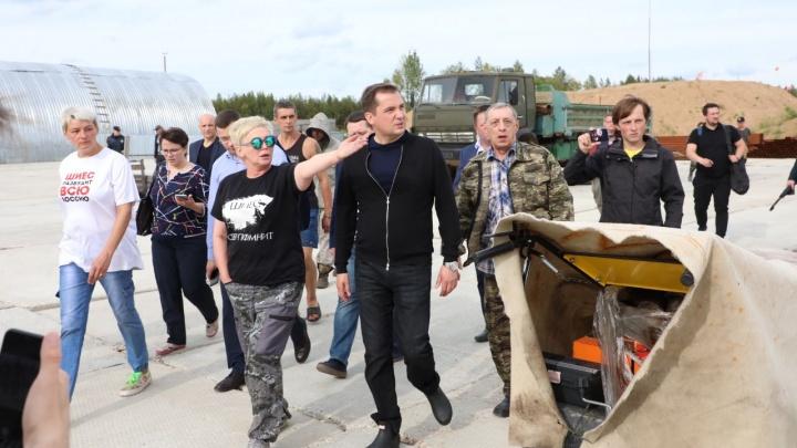 «Это сейчас Шиес — имя нарицательное»: о чем Цыбульский разговаривал с активистами в Ленском районе