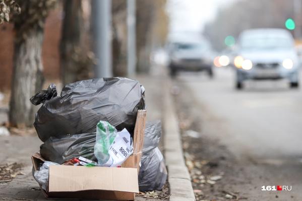 В следующем году ростовчанам придется больше платить за вывоз мусора