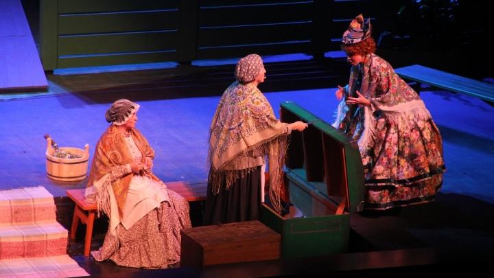 В Магнитогорском драматическом театре им. А. С. Пушкина состоялось открытие 83-го театрального сезона