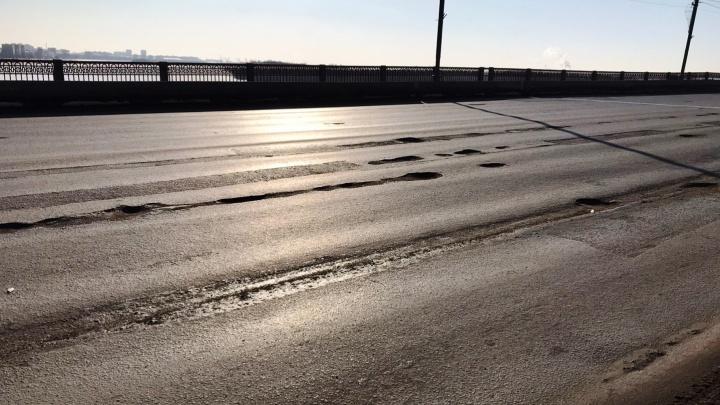 В конце недели Ленинградский мост частично перекроют для ремонта