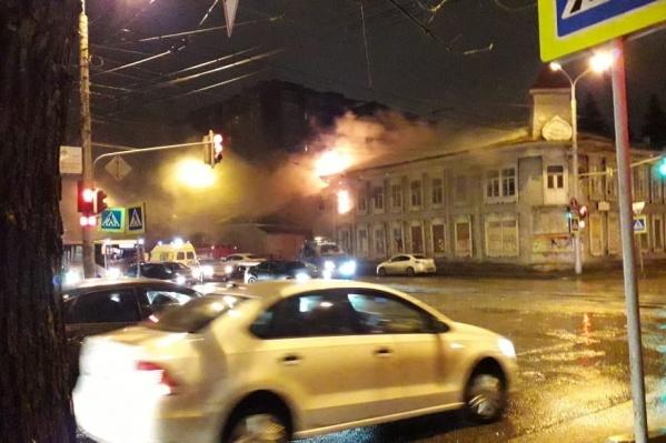 Уфимцы считают, что на месте сгоревшего дома появится многоэтажка