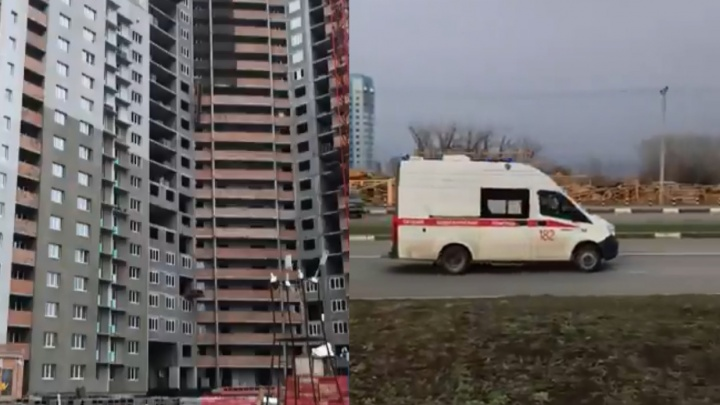 В Волгаре рабочий упал на стройке с высоты 16-го этажа