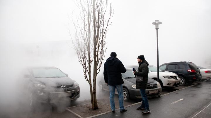 Больше десяти домов остались без тепла. Все про прорыв в Европейском микрорайоне — трансляция