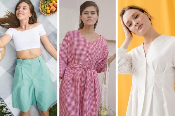 У маленьких новосибирских производителей можно найти и платья, и рубашки, и брюки