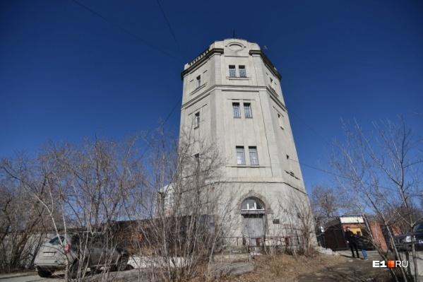 Работы в водонапорной башне на Московской начнутся этим летом