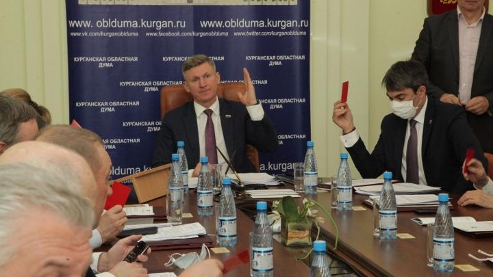 Увеличились расходы на социальные выплаты: депутаты облдумы приняли изменения в бюджет Зауралья