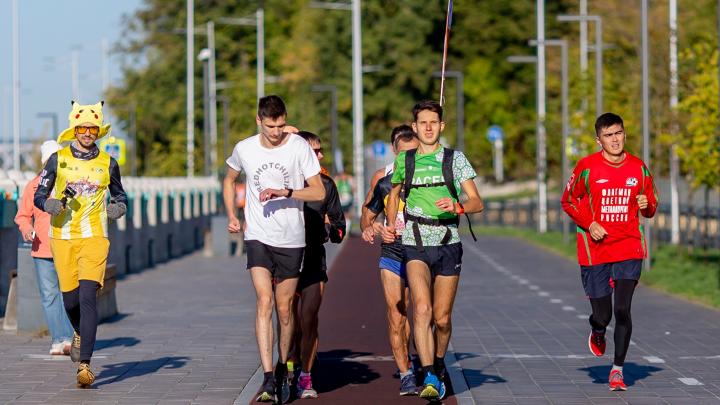 Уфимский международный марафон «онлайн 2.0» собрал более 1500 бегунов