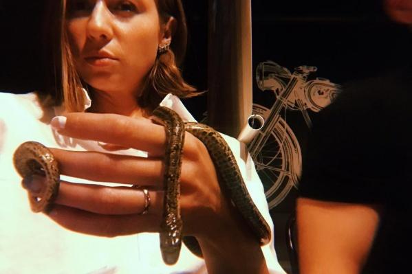 Змею зовут Камасутра