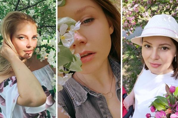 Фотосессия среди майских яблонь — такой же шаблон, как и снимки в осенних листьях. Устоять перед соблазном трудно