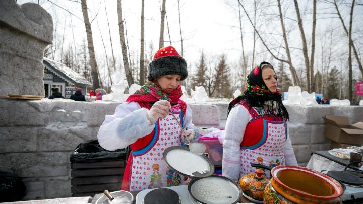 Масленица пришла: красноярцы встречают праздник диетическими блинами