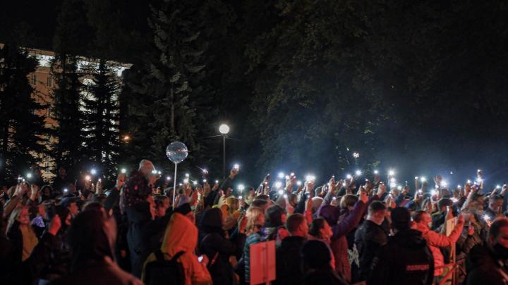 Танцуешь или замерзаешь! Архангельск зажигает на концерте с хедлайнером Найком Борзовым — фото