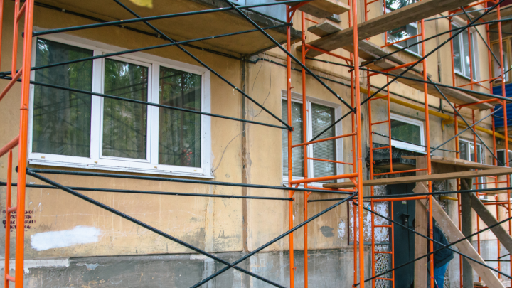 В Самаре во время ремонта дома погиб рабочий