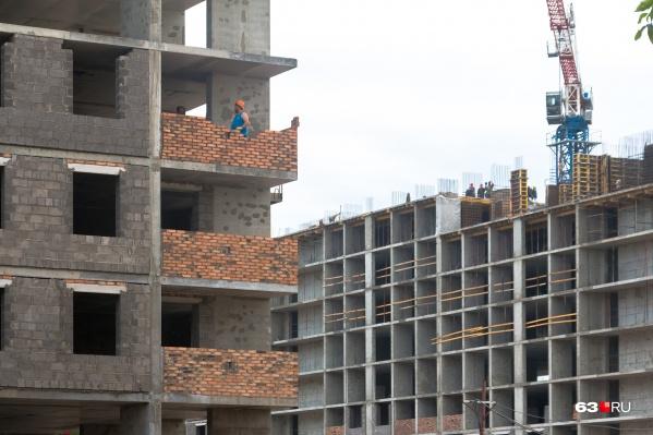 Многоэтажек в Самаре прибавится