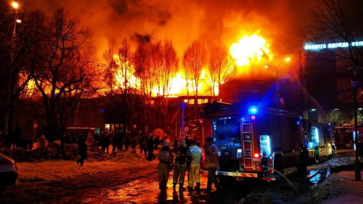 Виновником пожара в ресторане «Золотая пагода» оказался поломанный вентилятор