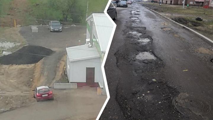 «Мы добавимся в огромную пробку»: жители крупного микрорайона Ярославля оказались в ловушке