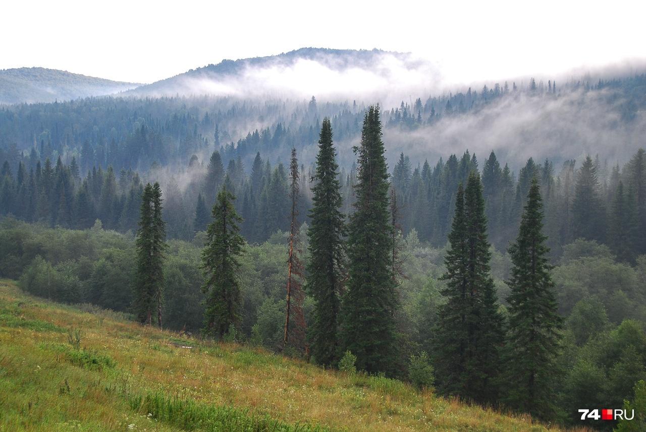 В горах нередки туманы