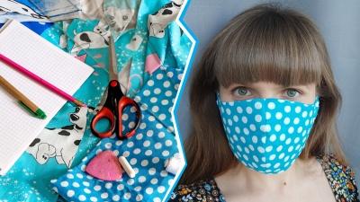 Нет в аптеке — сделаем сами: рассказываем и показываем пошагово, как сшить маску