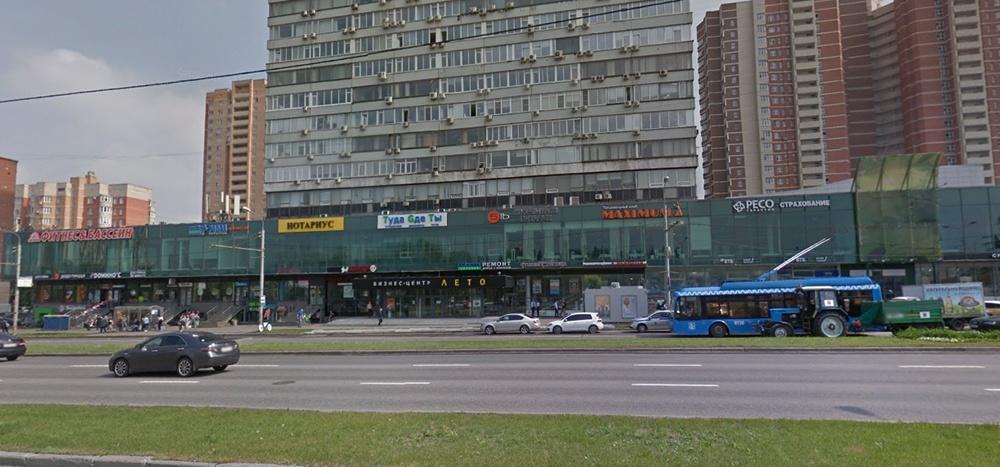 бизнес-центр на проспекте Вернадского в Москве<br>