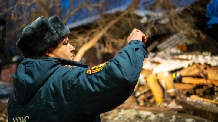 В МЧС назвали предварительную причину обрушения здания на Маркса