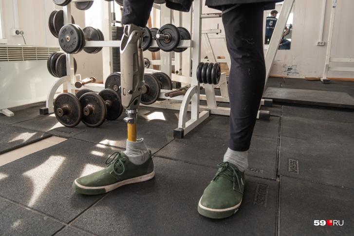 Такой протез ноги стоит 1,2 миллиона рублей