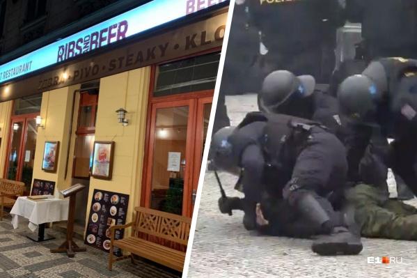 Чехов возмутило закрытие ресторанов, они стали протестовать и встретили жесткий отпор со стороны полицейских