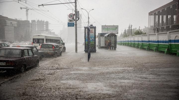 Местами град: синоптики рассказали о резко поменявшейся погоде в Новосибирске