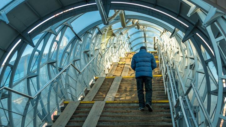Около Новой Самары построят надземный пешеходный переход