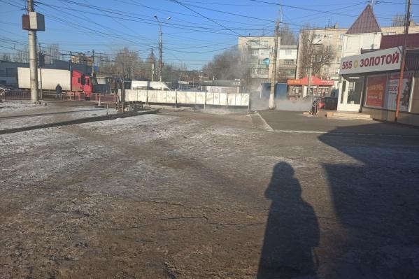 Улица Качинцев захлебнулась нечистотами