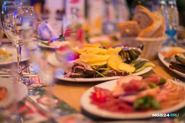 Красноярские рестораны упустят прибыль от корпоративов