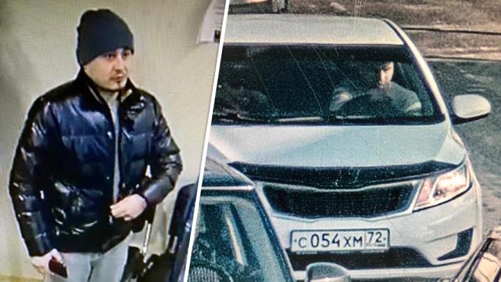 Тюменские полицейские ищут профессионального угонщика, который украл больше десятка машин