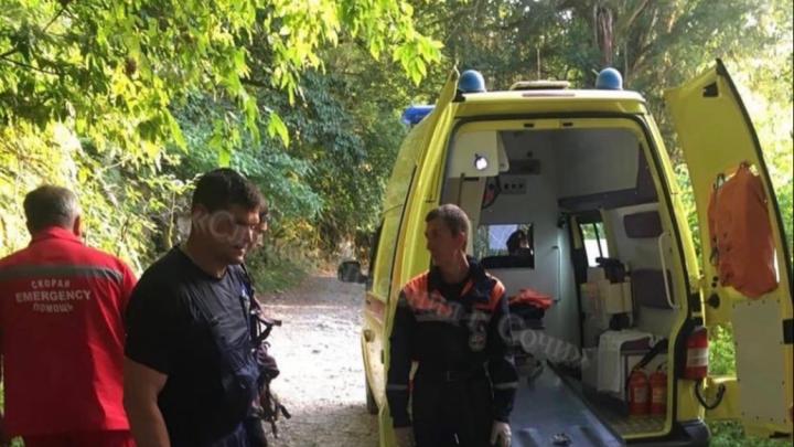 Его доставали спасатели: в горах в Сочи упал 29-летний екатеринбуржец